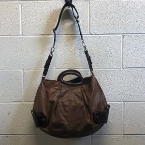 Marni brown leather handbag, 62113